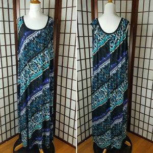 CONNECTED APPAREL MAXI DRESS